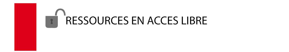 Ressources en accès libre
